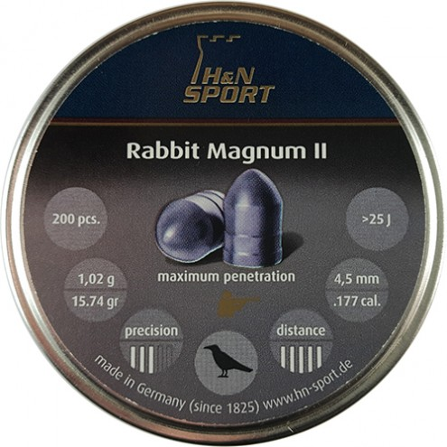 Пули H&N Rabbit Magnum II 1,02 г (200 штук) 4,5 мм