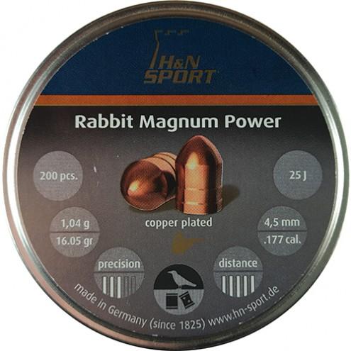 Пули H&N Rabbit Magnum Power 1,04 г (200 штук) 4,5 мм