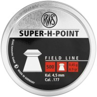 Пули RWS Super-H-Point 0,45 г (500 штук) 4,5 мм