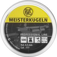 Пули RWS Meisterkugeln 0,53 г (500 штук) 4,5 мм