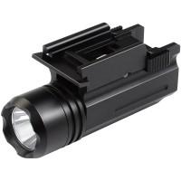 Тактический фонарь светодиодный на планку Вивера/Пикатинни 200 лм