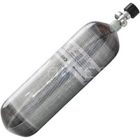 Баллон металлокомпозитный 2,5 л, вентиль с манометром