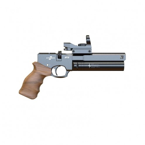 Ataman (Атаман) AP16 (черный, компакт, рукоять деревянная) 5,5 мм