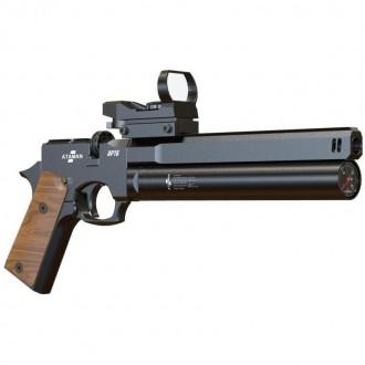 Ataman (Атаман) AP16 (черный, компакт, рукоять деревянная) 5,5 мм в комплекте с насосом