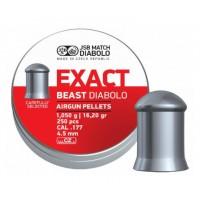 Пули JSB Diabolo Exact Beast 1,05 г (250 штук) 4,5 мм
