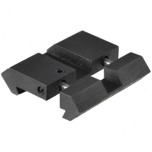 Адаптер (планка Вивера/Пикатинни) Leapers UTG низкий на ласточкин хвост