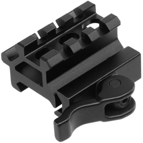 Адаптер (планка Вивера/Пикатинни) Leapers UTG 20 мм на планку Вивера/Пикатинни