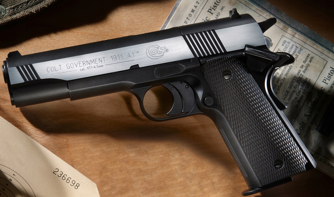 Umarex Colt Government 1911 A1 (Dark OPS) 4,5 мм