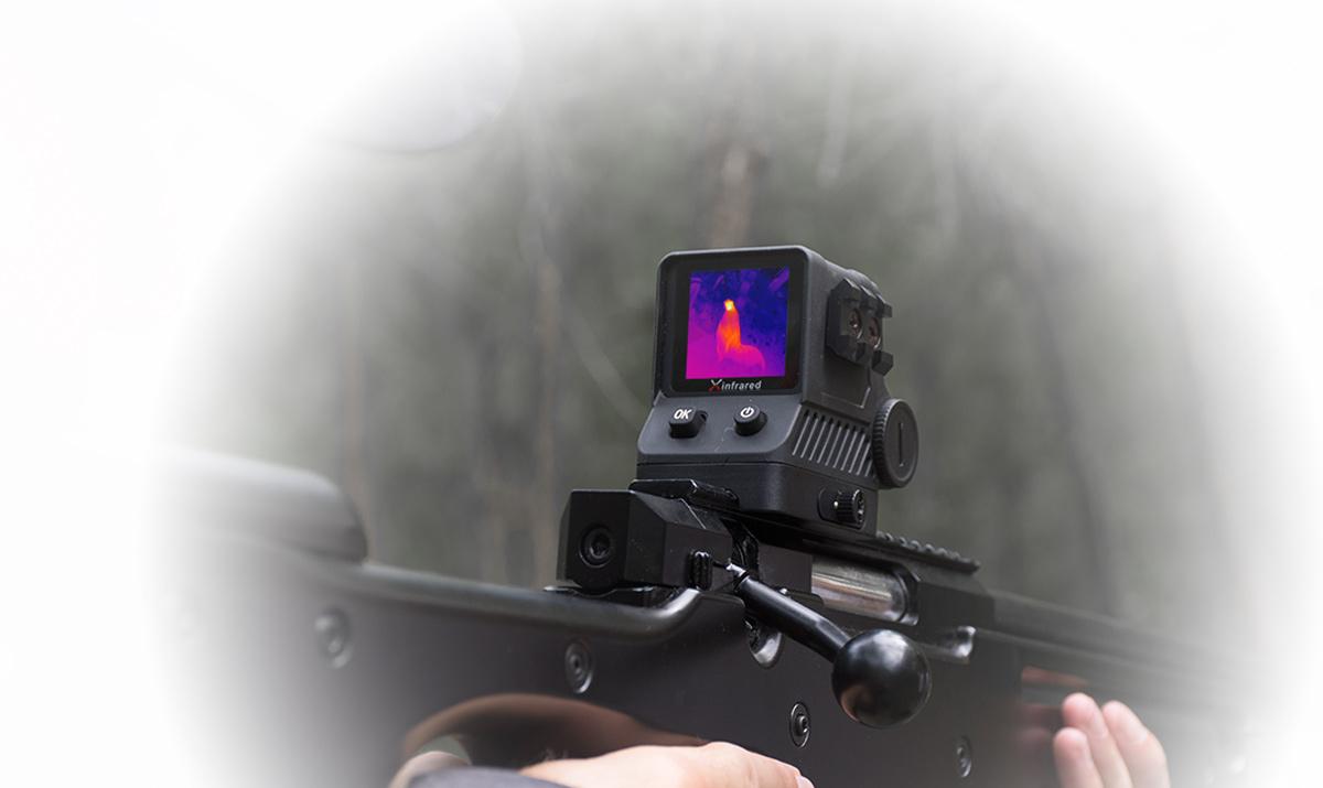 фото тепловизионного охотничьего прицела iRay Xholo HP06