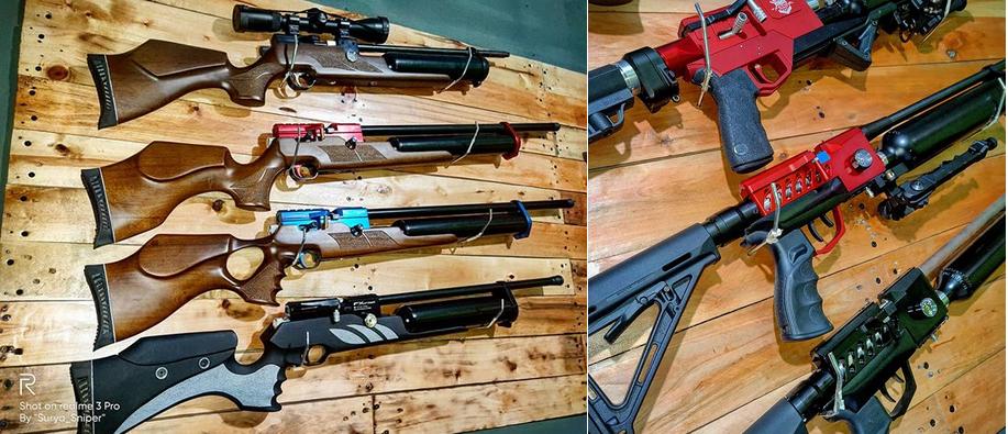 сравнение псп винтовок Gamo