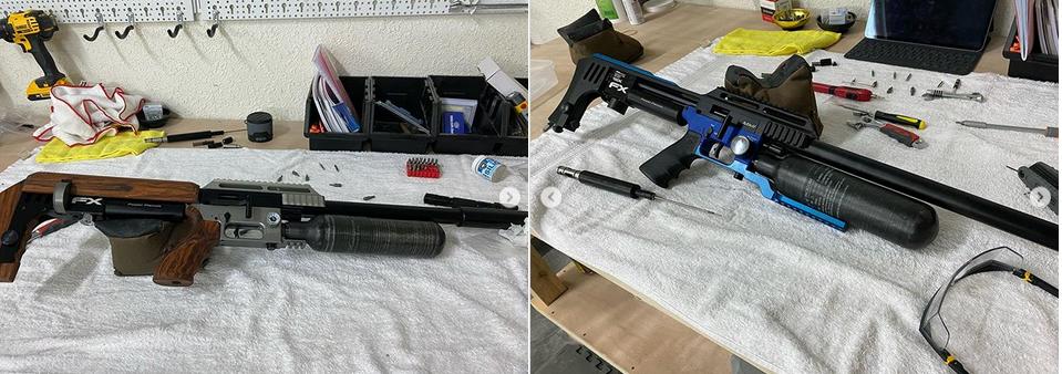 фото до и после усиления pcp винтовки