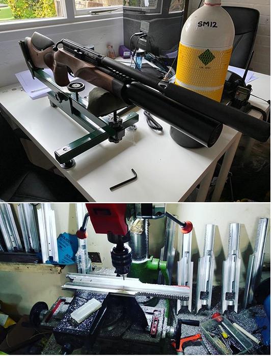 ремонт pcp пистолетов