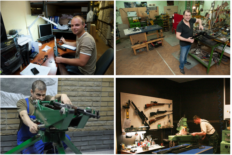ремонт псп винтовок Baikal