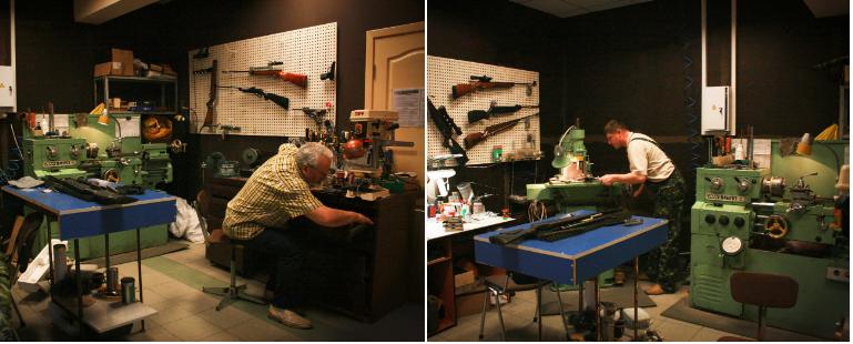 мастерская по ремонту пневматических винтовок Baikal