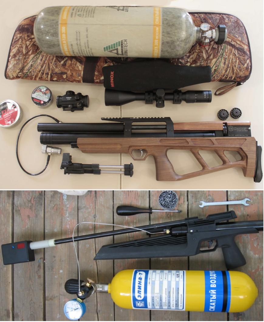 аксессуары для заправки псп винтовки